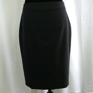 Banana Republic wool blend black pencil skirt